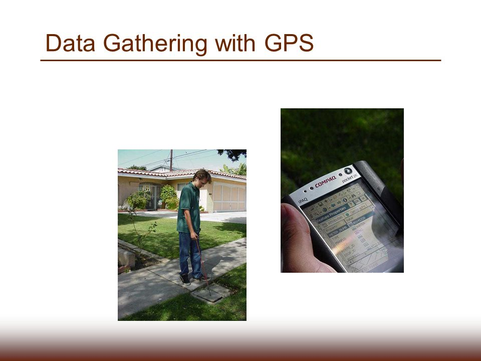 Data Gathering with GPS