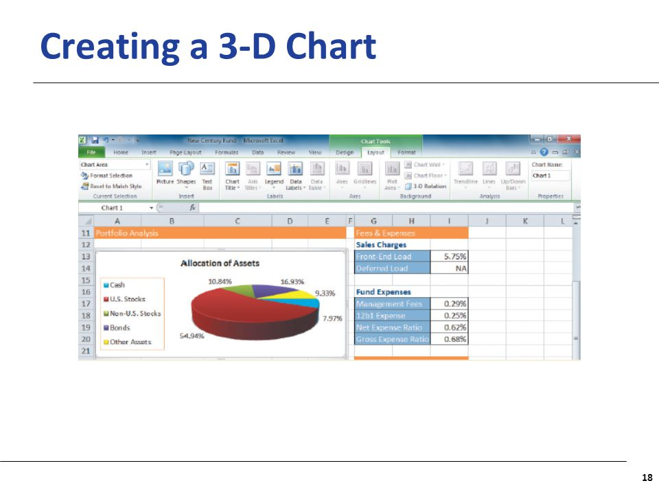 Creating a 3-D Chart
