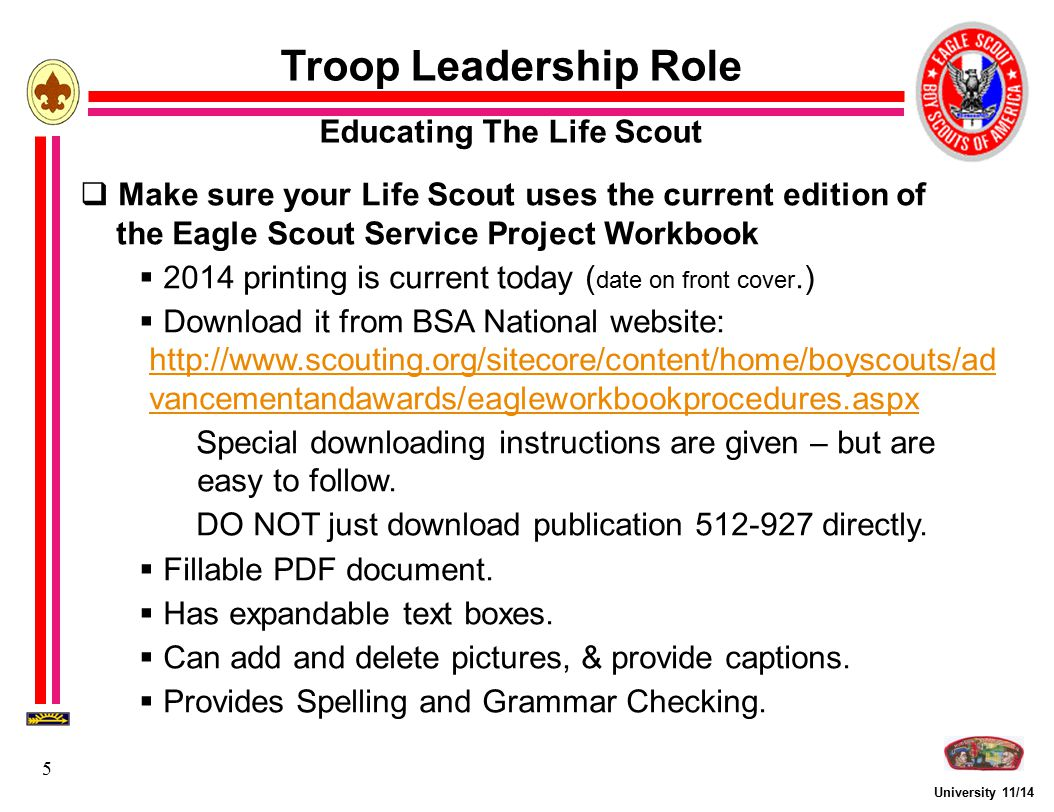 Eagle Scout Service Project Fundamentals - ppt video online download