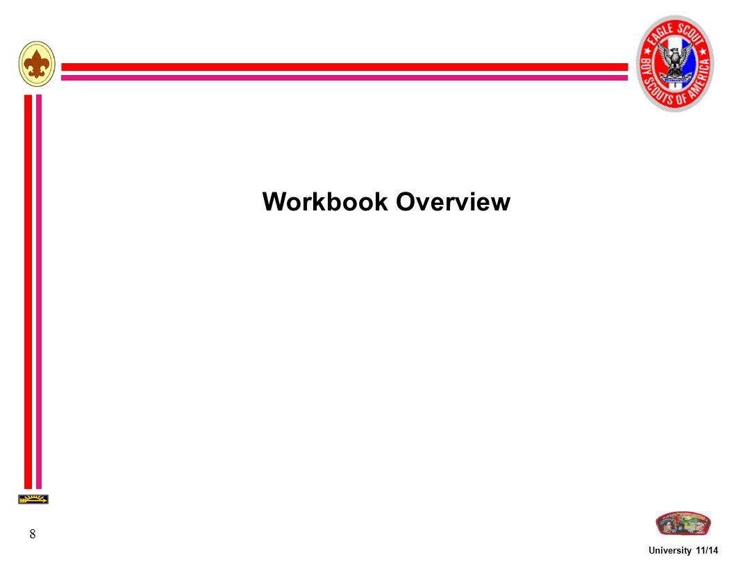 Workbook Overview