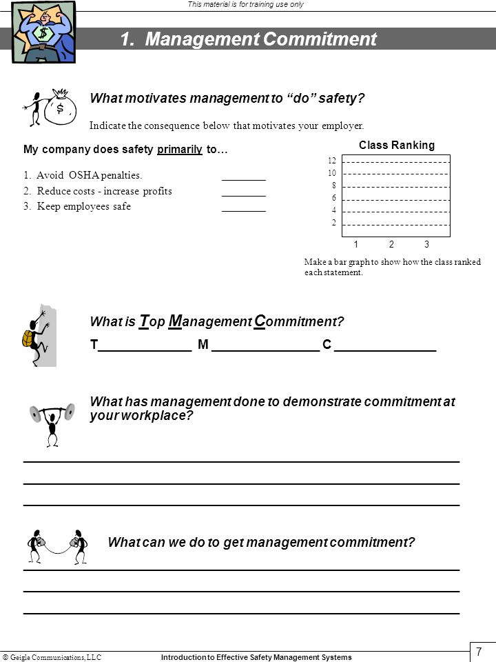 1. Management Commitment