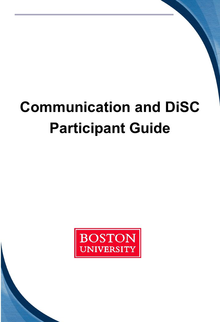 Communication and DiSC