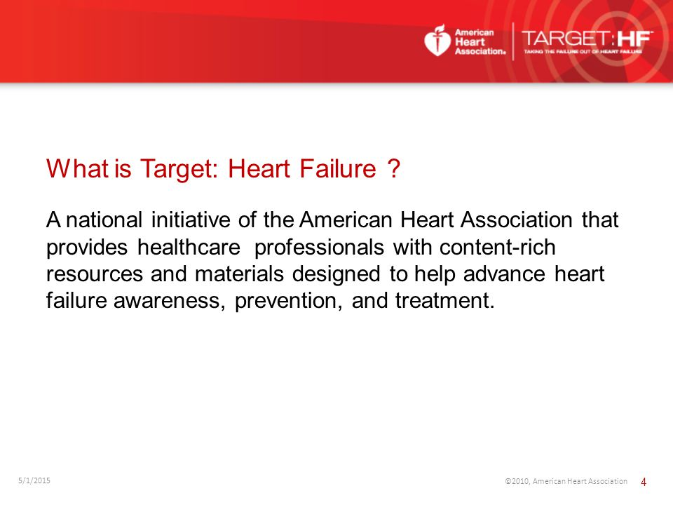 What is Target: Heart Failure