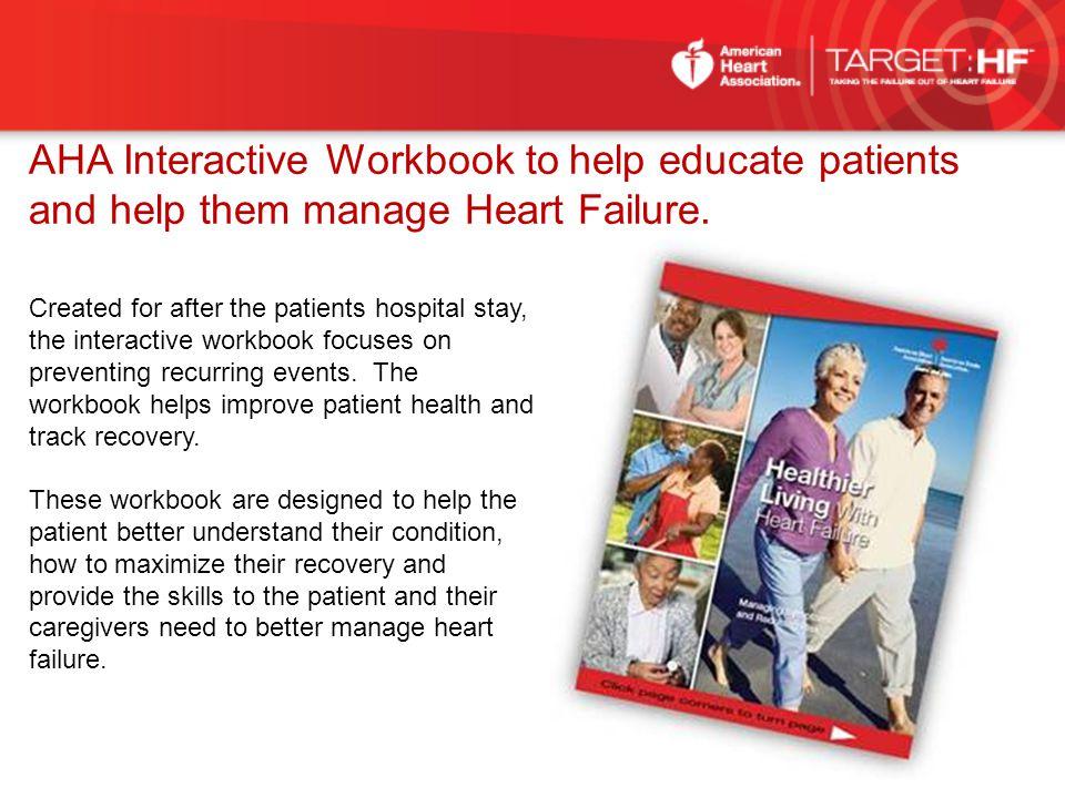 AHA Interactive Workbook to help educate patients