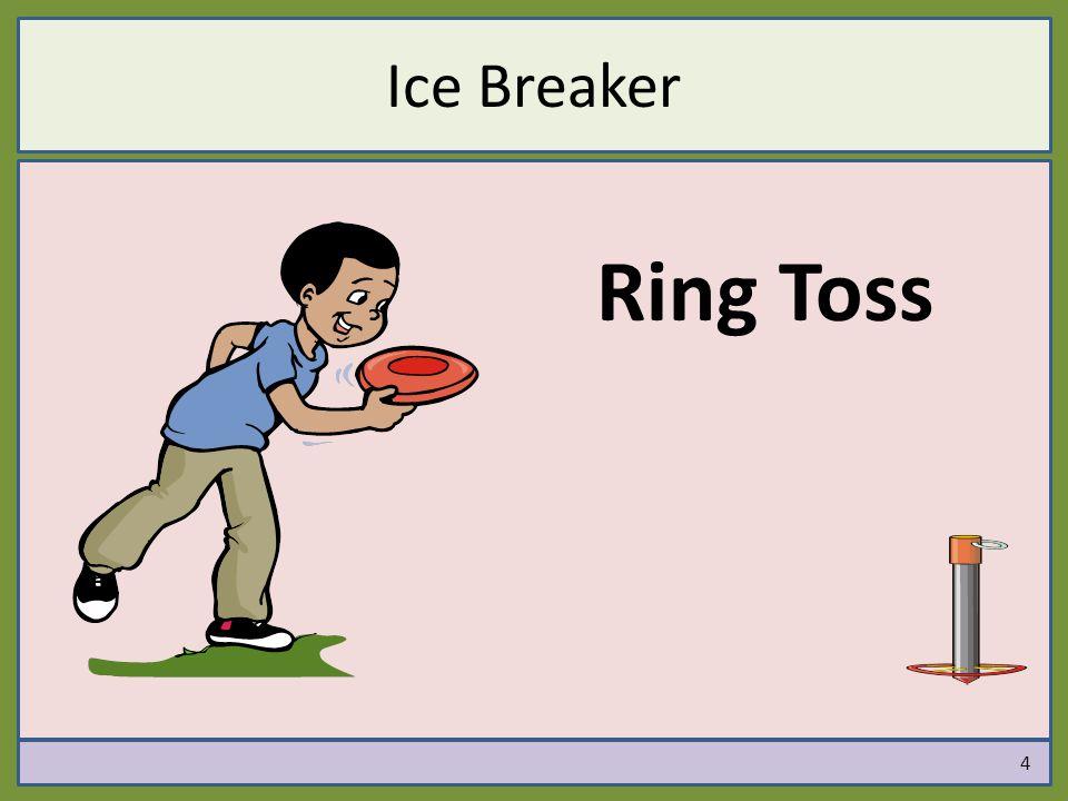 Ice Breaker Ring Toss