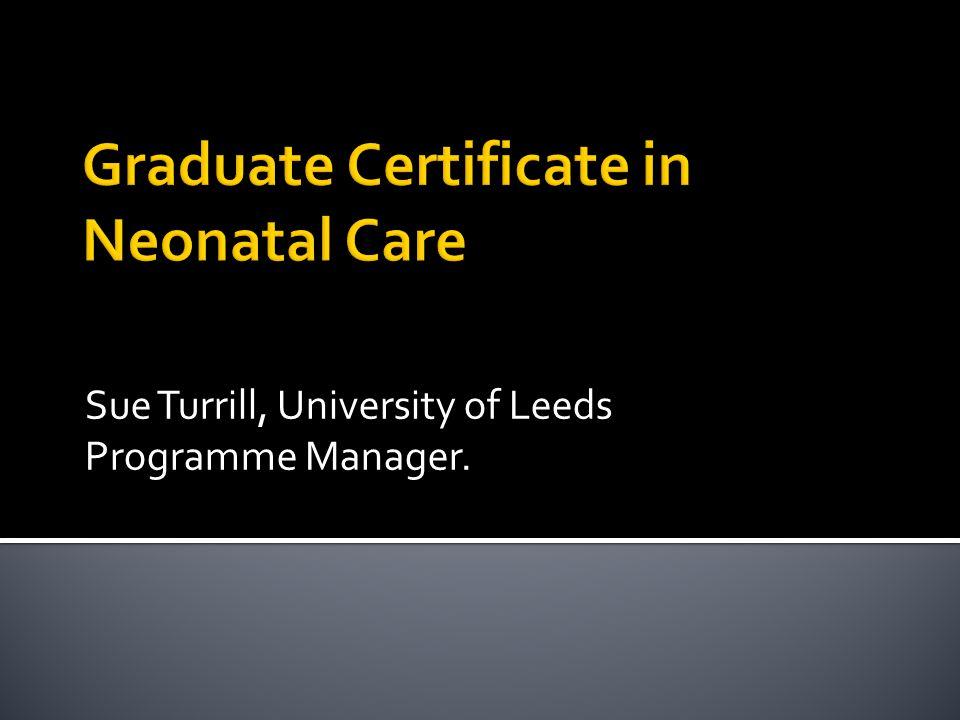 Graduate Certificate in Neonatal Care