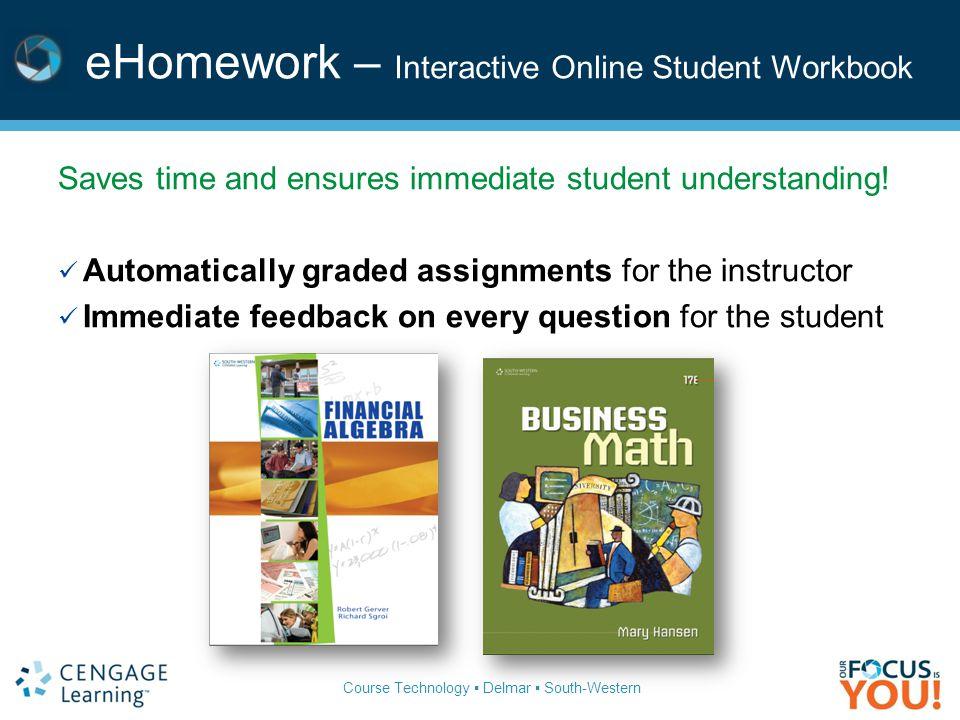 Financial algebra 2011 gerversgroi pub date 12710 ppt download ehomework interactive online student workbook fandeluxe Images