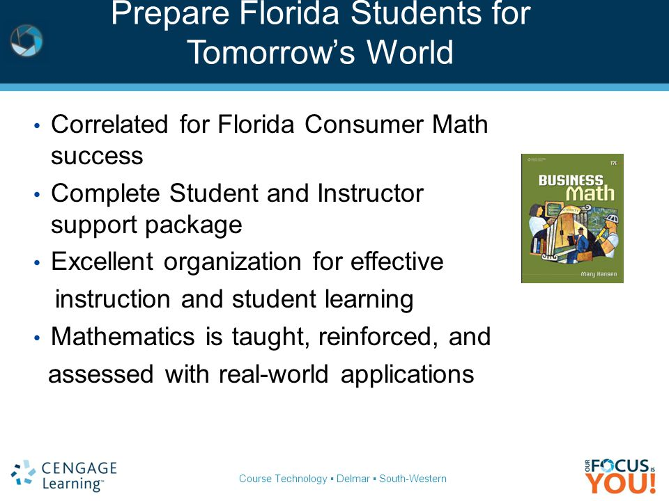 Prepare Florida Students for Tomorrow's World