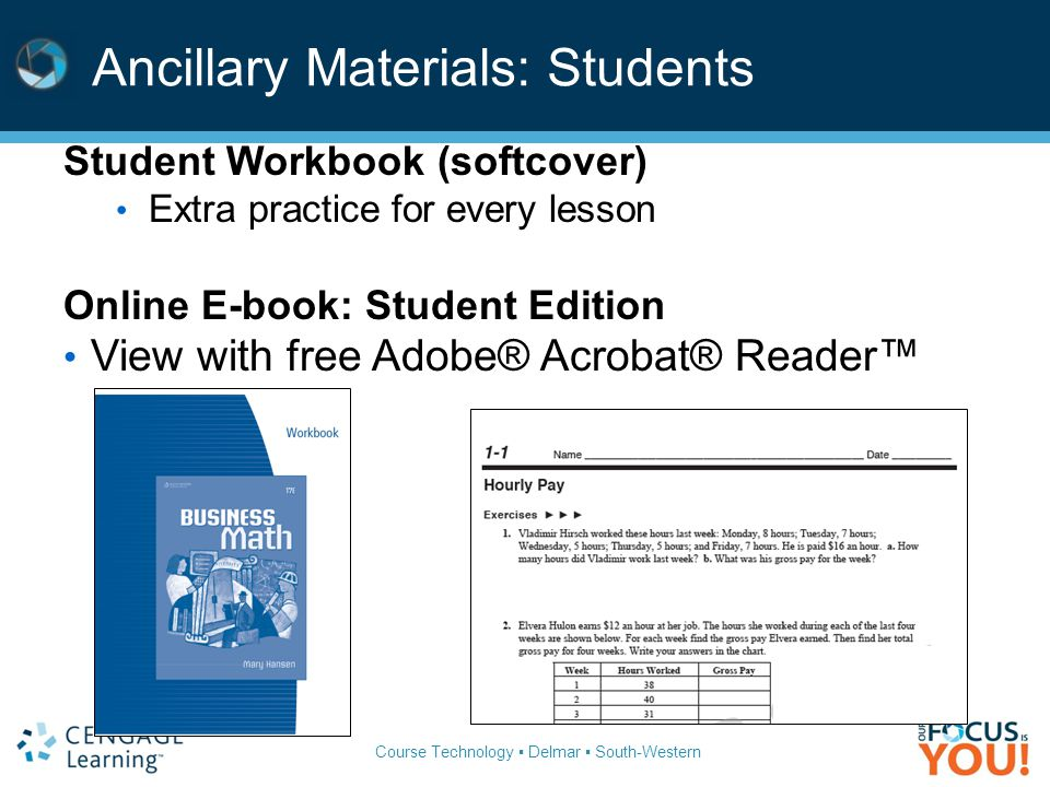 Financial algebra 2011 gerversgroi pub date 12710 ppt download 50 ancillary materials students fandeluxe Image collections