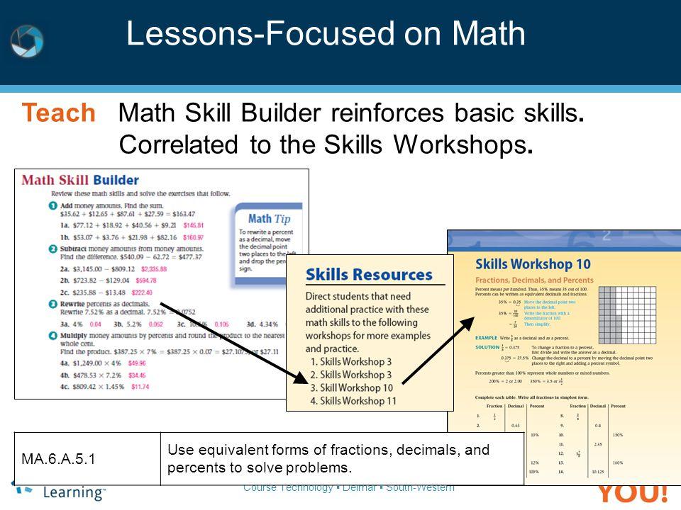 Lessons-Focused on Math