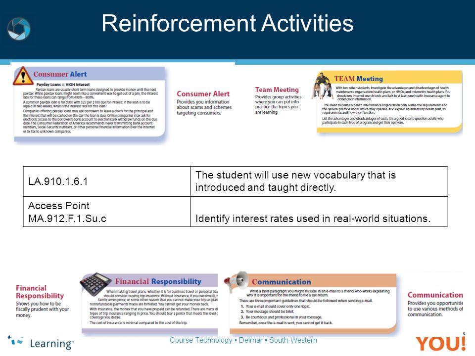 Reinforcement Activities