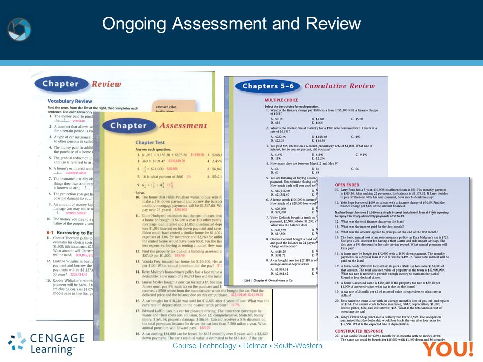 Ongoing Assessment and Review