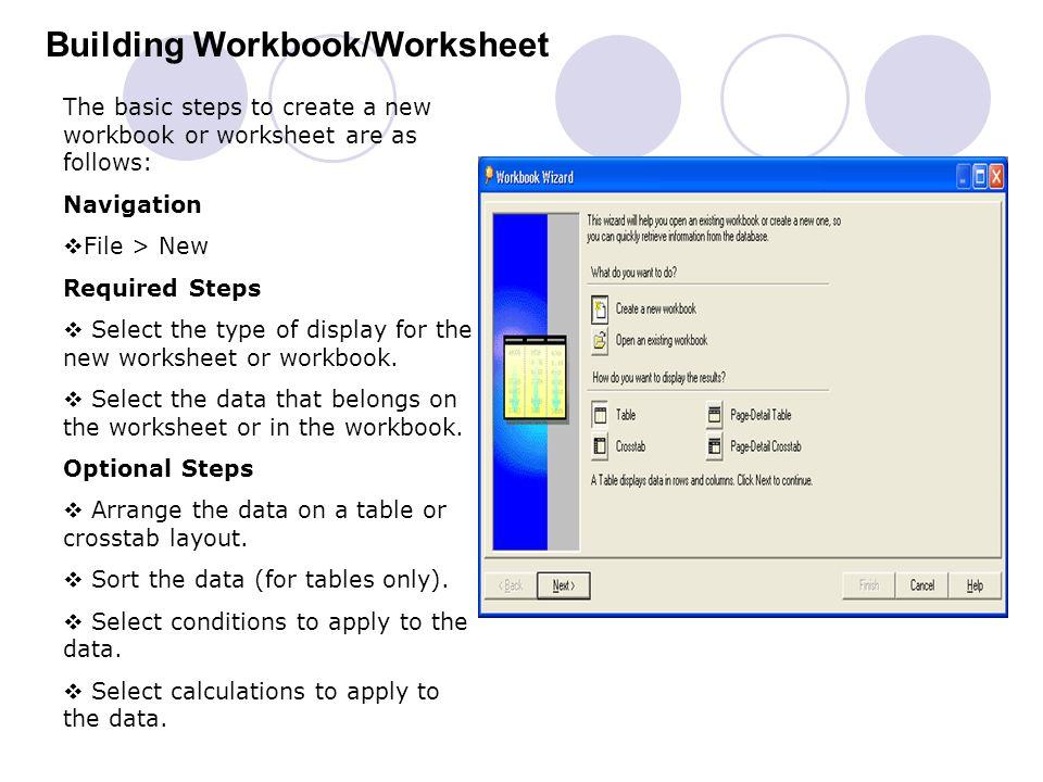 Building Workbook/Worksheet