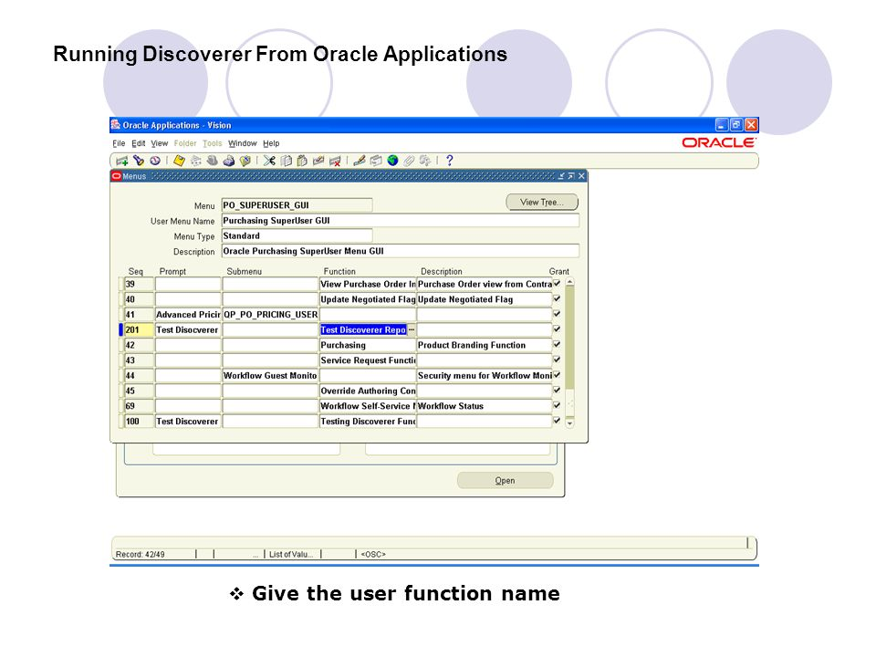 Running Discoverer From Oracle Applications