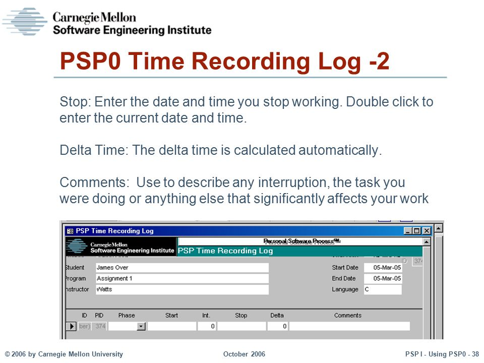 PSP0 Time Recording Log -2