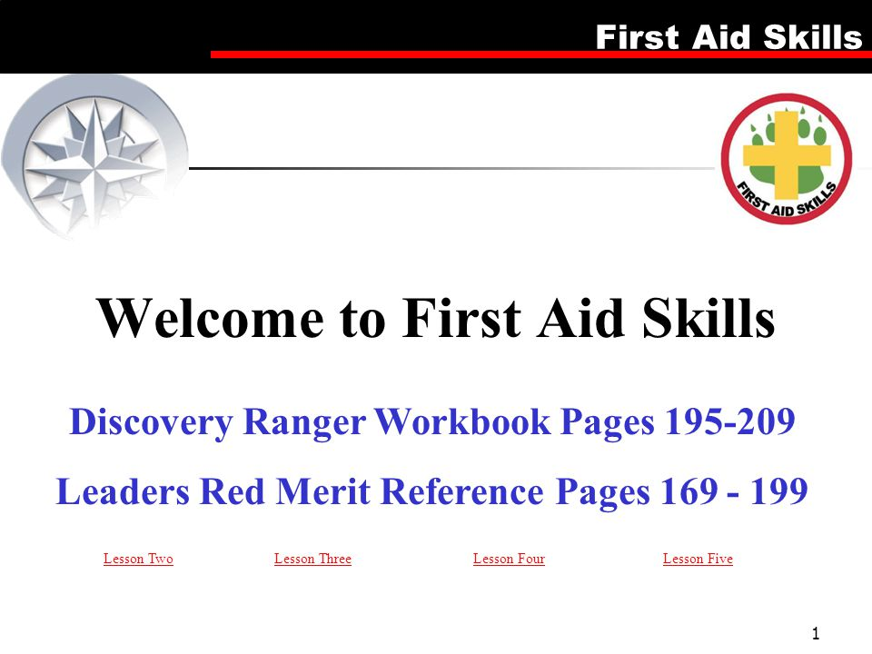 Welcome to First Aid Skills