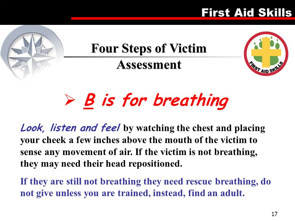 Four Steps of Victim Assessment