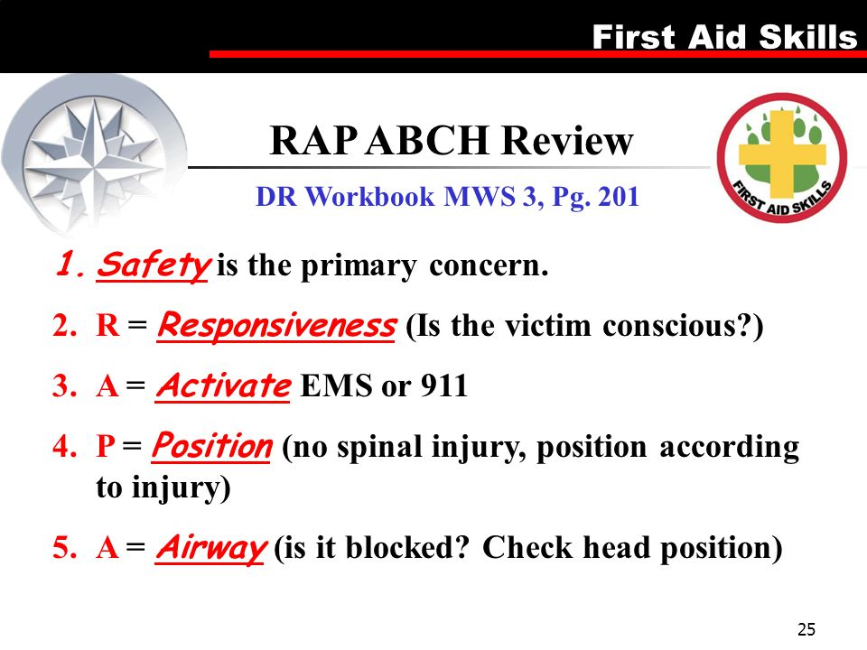 RAP ABCH Review Safety is the primary concern.