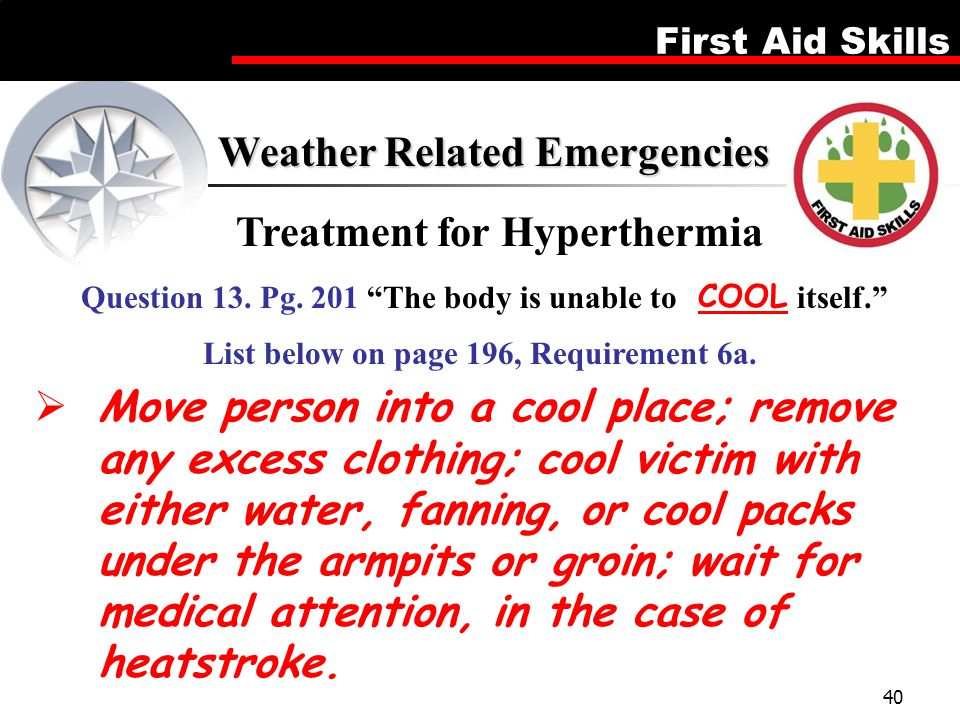 Treatment for Hyperthermia