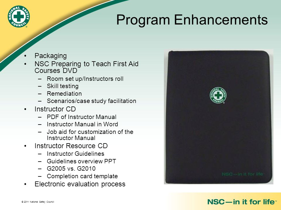 Program Enhancements Packaging