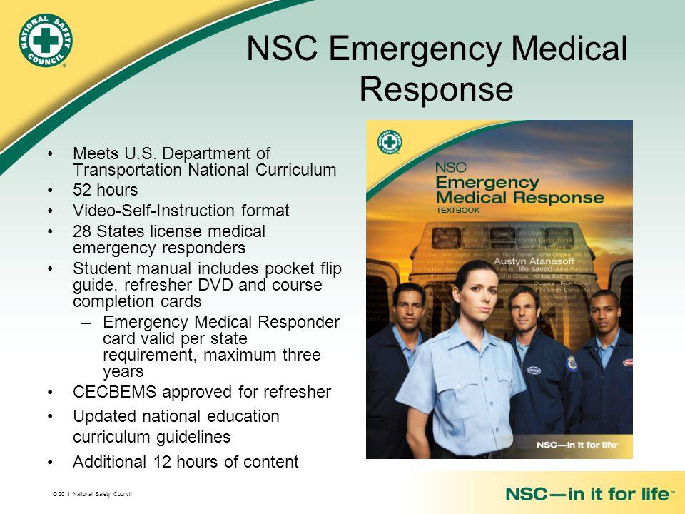 NSC Emergency Medical Response