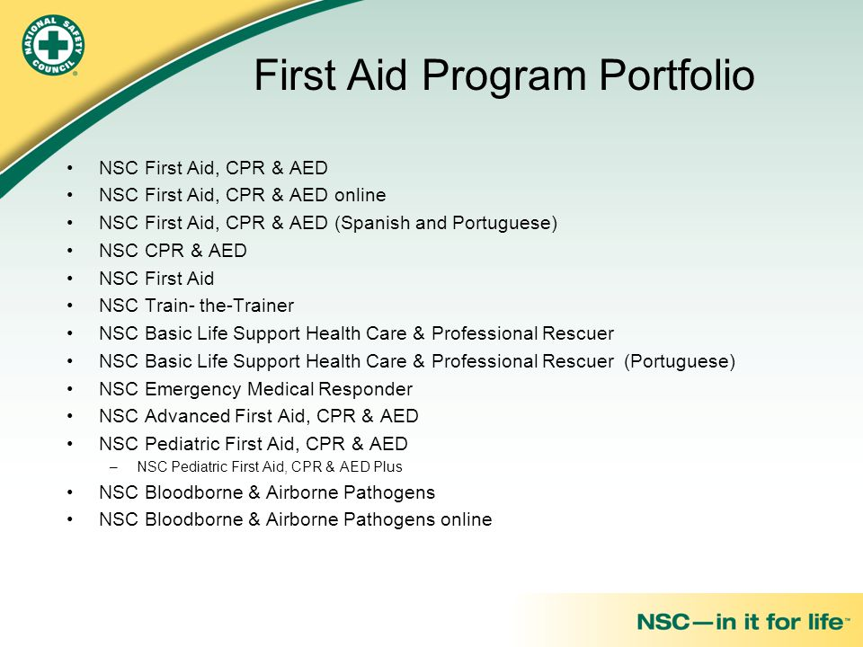 nsc first aid quick guide pdf