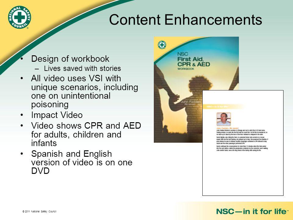 Content Enhancements Design of workbook