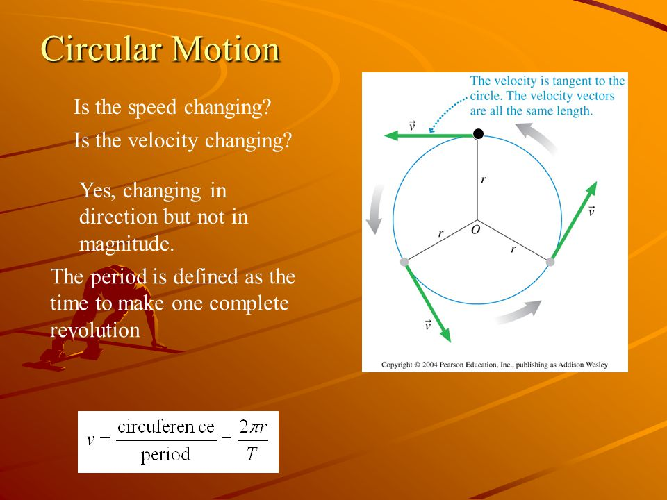 Circular Motion Is the speed changing Is the velocity changing