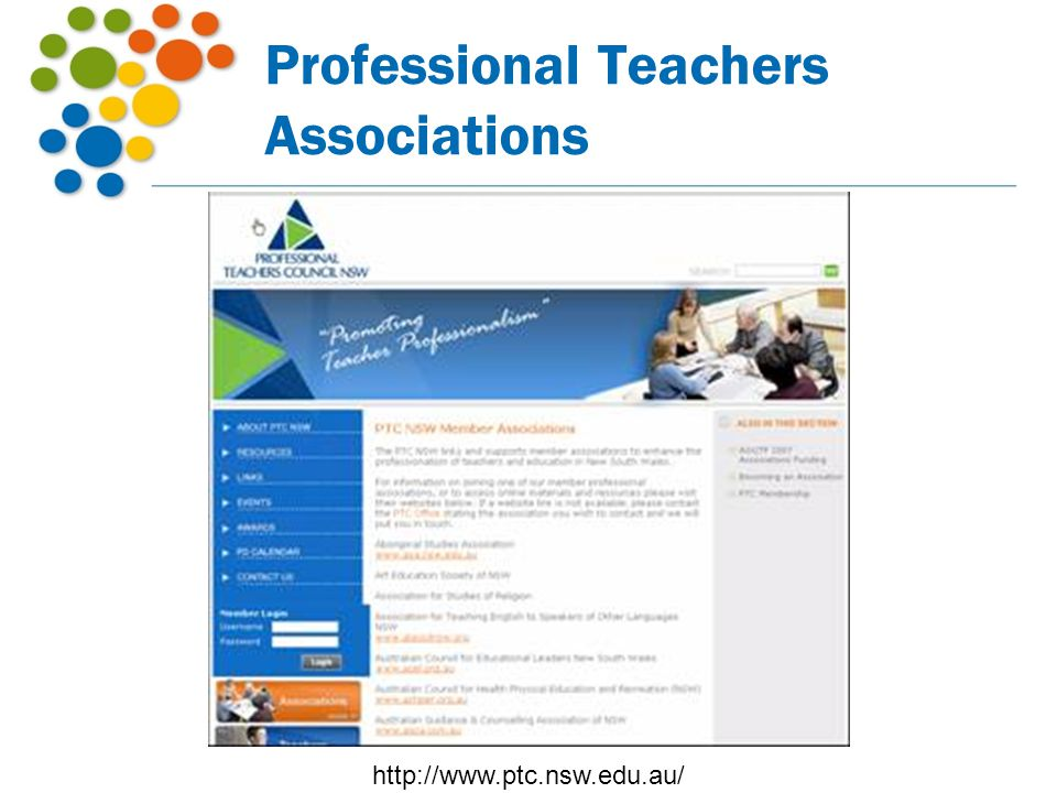 Professional Teachers Associations