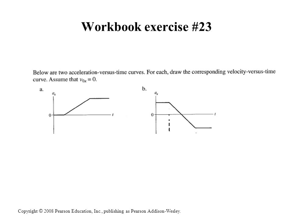 Workbook exercise #23
