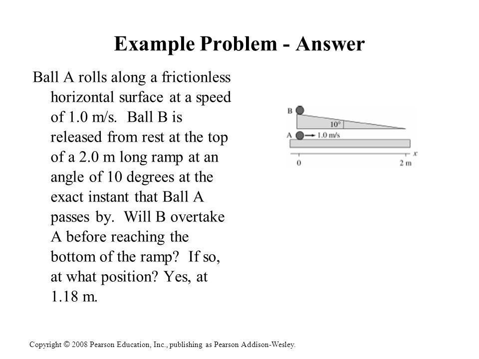 Example Problem - Answer