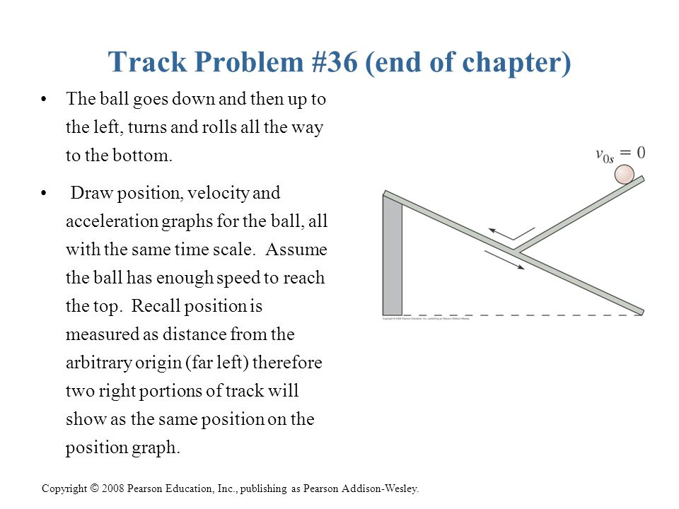 Track Problem #36 (end of chapter)