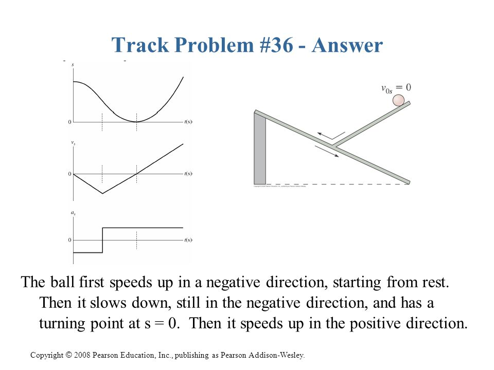 Track Problem #36 - Answer