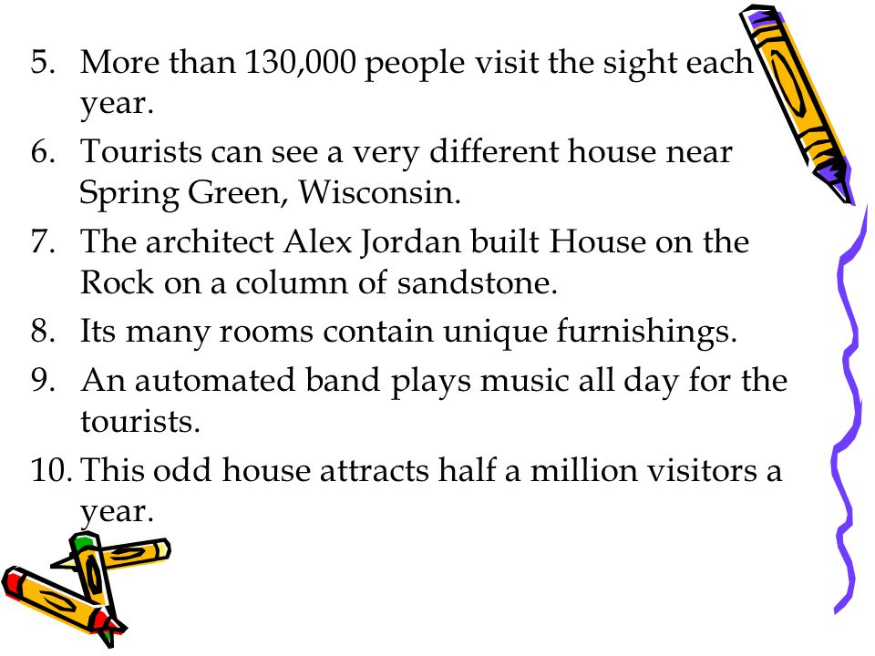 More than 130,000 people visit the sight each year.