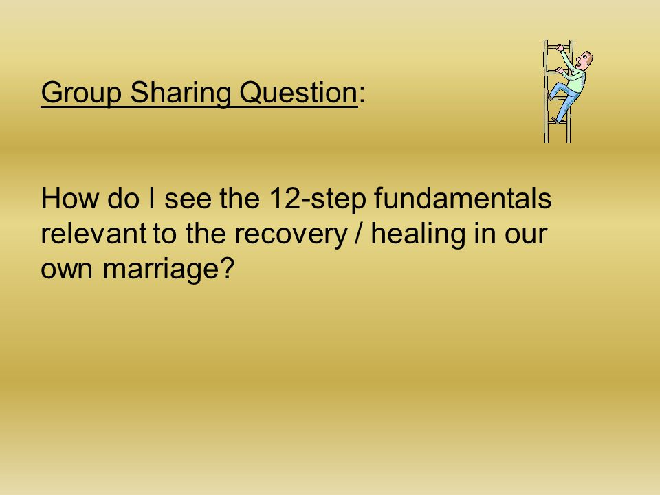 Group Sharing Question:
