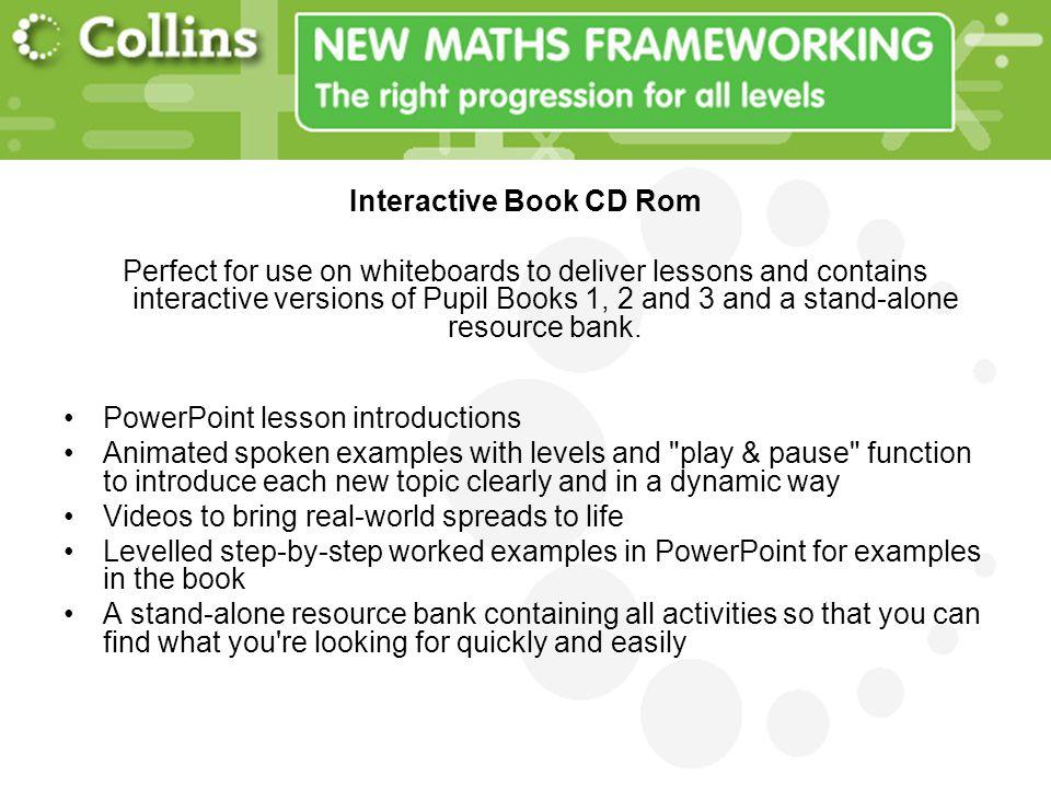 Interactive Book CD Rom