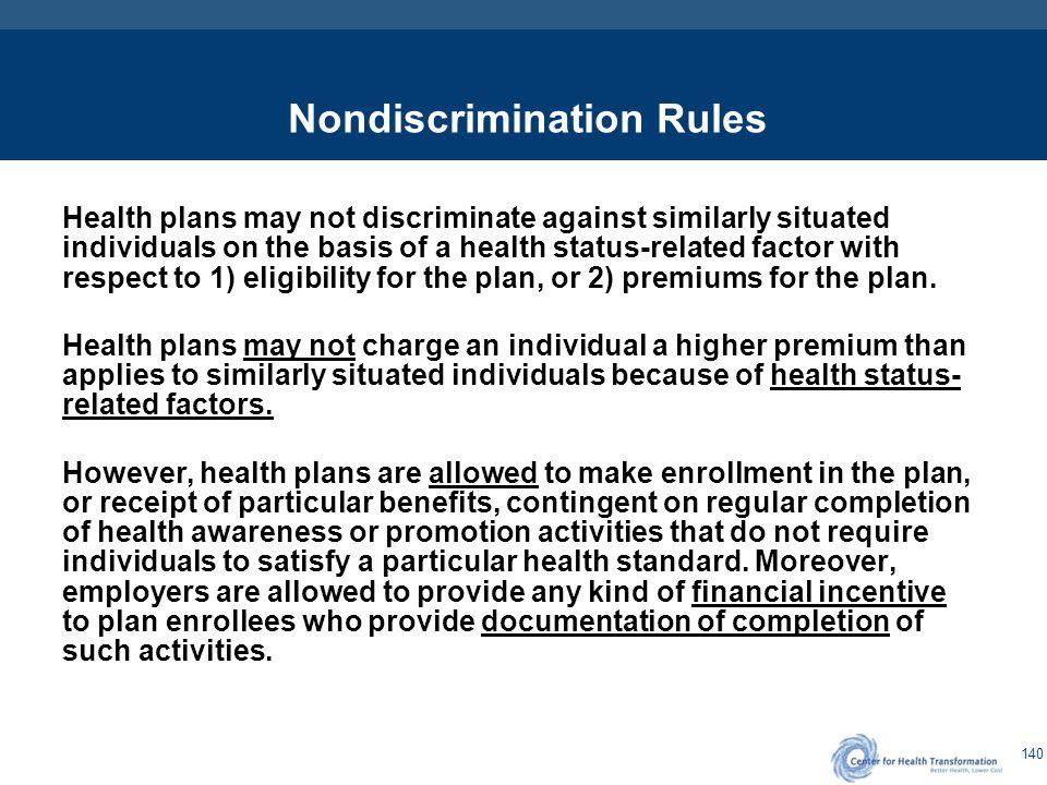 Individuals & Health Status Factors