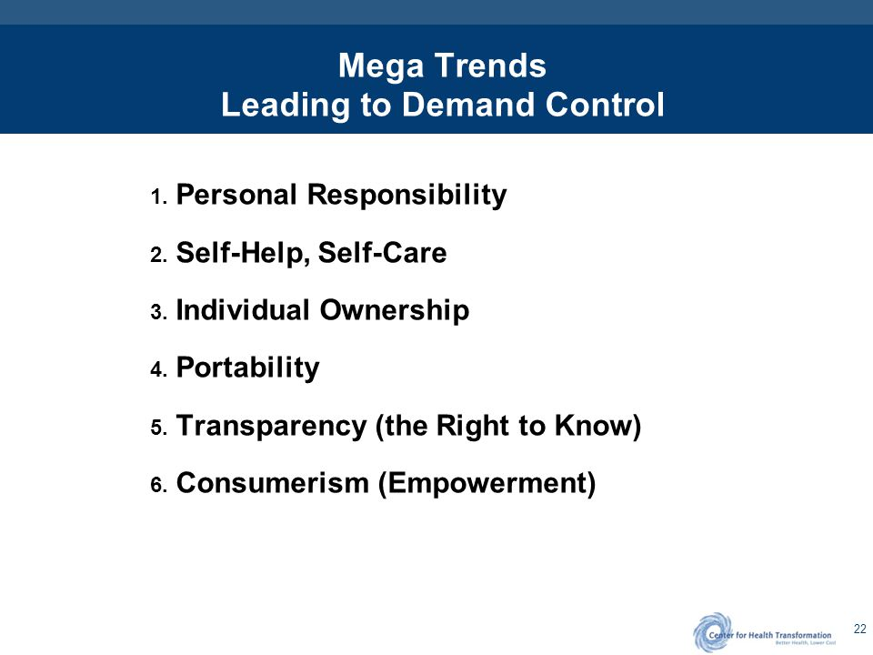 Healthcare Consumerism - Defined
