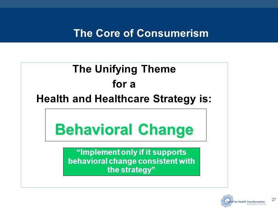 Healthcare Consumerism Roles & Responsibilities / Implications