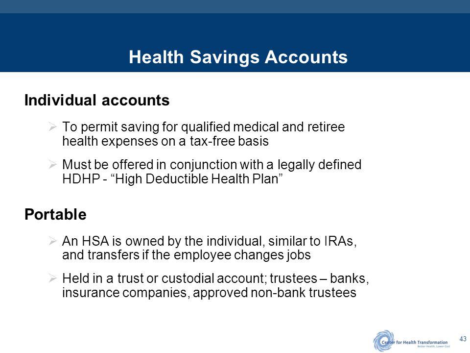Health Savings Accounts: Contributions