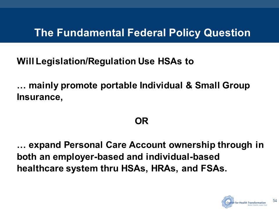 - The Answer - Flexible Health Savings Accounts (FHSAs)