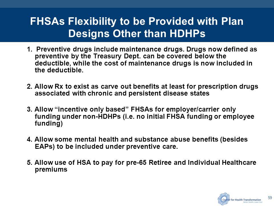 FHSA Flexibility - Technical Issues