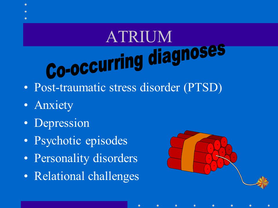 Co-occurring diagnoses