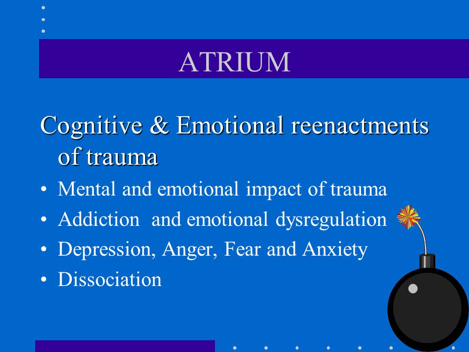 ATRIUM Cognitive & Emotional reenactments of trauma