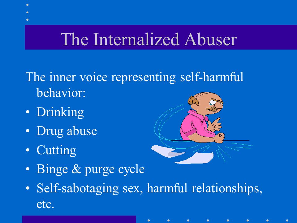 The Internalized Abuser