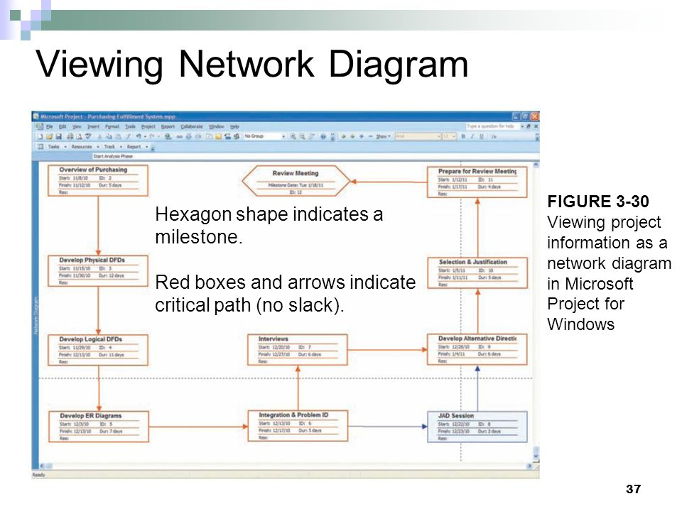 Viewing Network Diagram