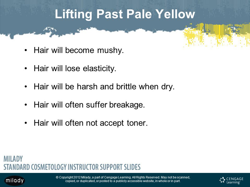 Lifting Past Pale Yellow