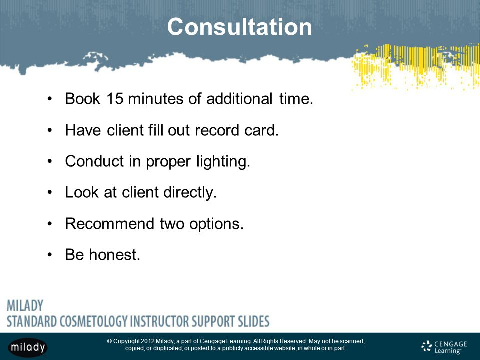 Consultation Book 15 minutes of additional time.