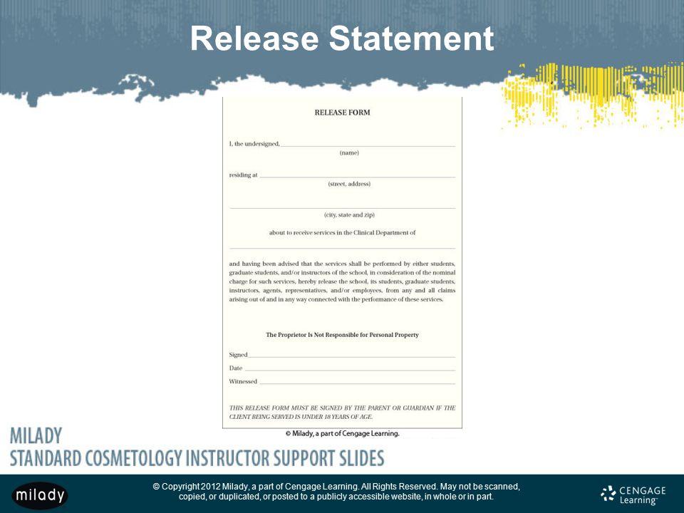Release Statement