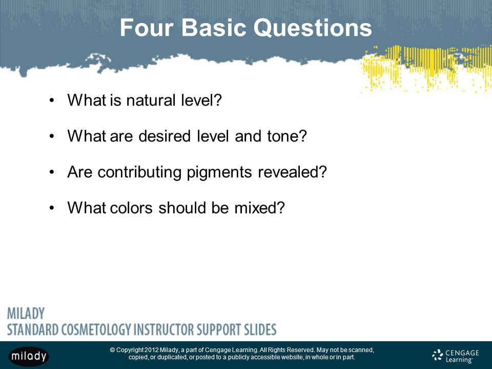 Four Basic Questions What is natural level